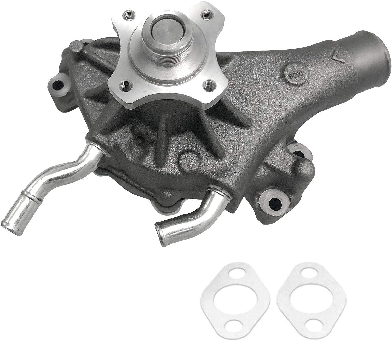 BOXI Engine Water Pump w/Gasket For Cadillac Chevy GMC Sierra Savana 1500 Oldsmobile Isuzu V6 V8 Engine 12532528 89060527 88926225 252-711 130-1820