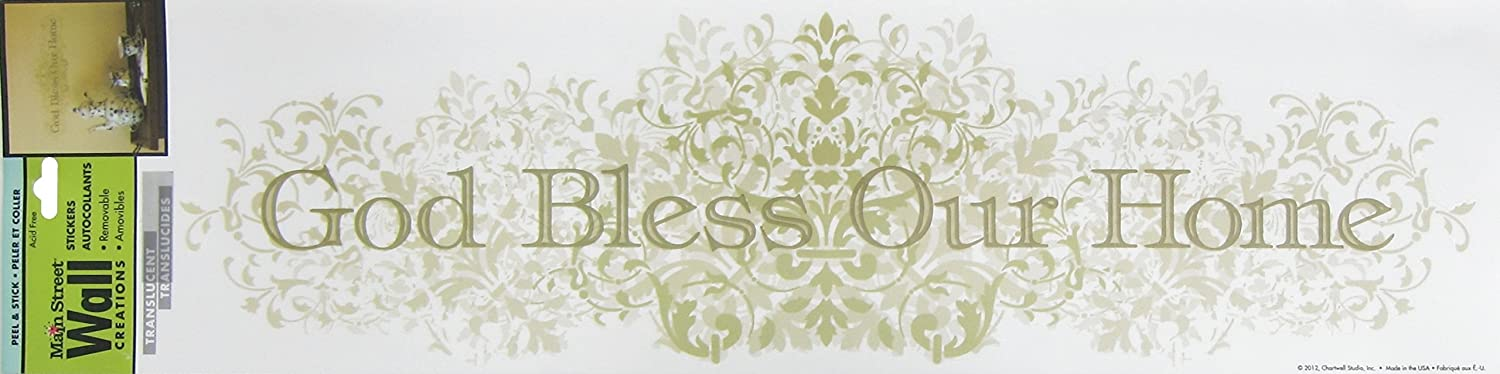 Amazon.com: Main Street Wall Creations, Removable Stickers, God Bless Our  Home: Home U0026 Kitchen Part 96