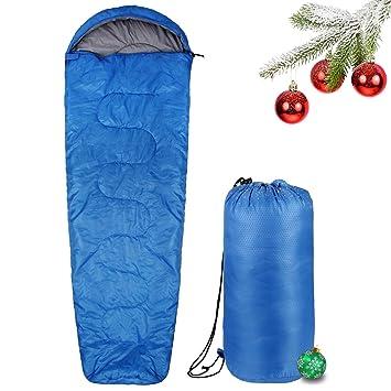 INTEY sobre Saco de Dormir con Forro Interior Suave, Resistente al Agua cabaña Saco de