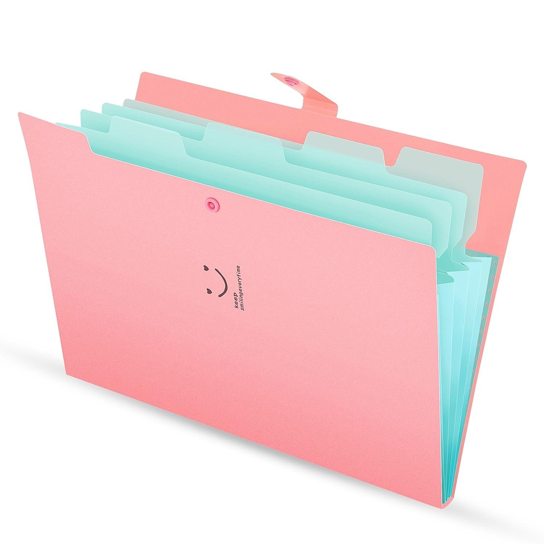 Trieur a4 Extensible avec 8 Compartiments Organiseur Document ... 3b606bc002f