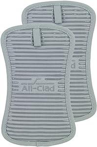 All-Clad Textiles Pot Holder, 2 Pack, Titanium