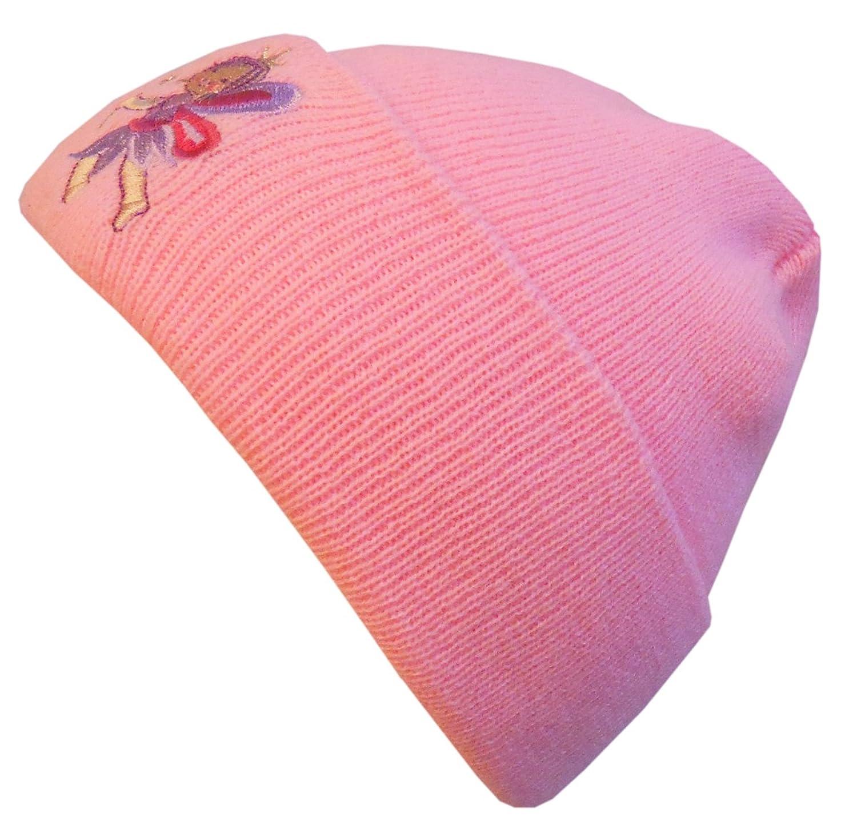 Galeja Mädchenmütze Beanie mit Umschalg Strickmütze Skimütze One Size 54-56 in 3 Farben