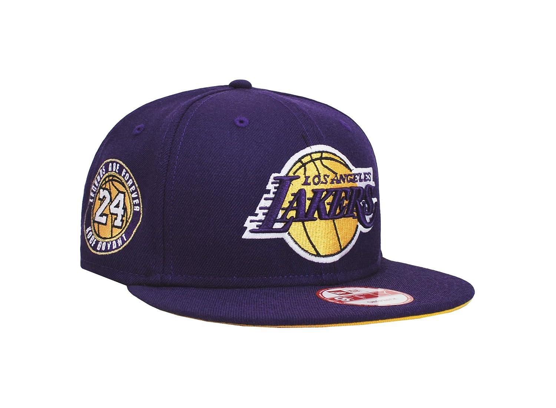 New Era Mens Hat LA Lakers Kobe Bryant Retirement Collection Ball 24 9Fifty  Cap at Amazon Men s Clothing store  a7a8d5e56e0