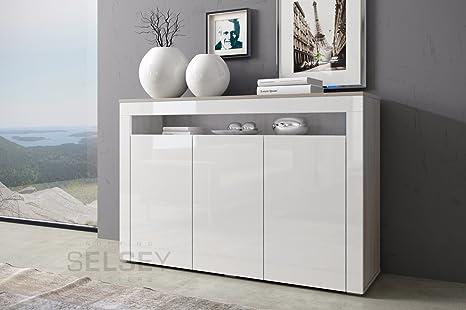 Credenza Moderna Para Sala : Selsey blue aparador para salón sala de estar o dormitorio