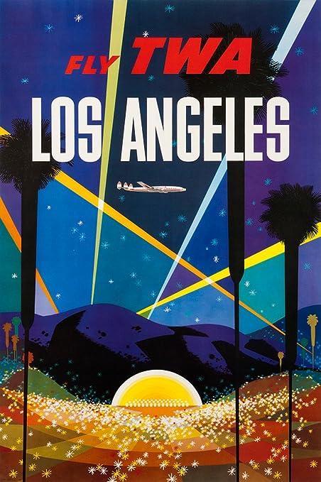 Amazon com: Digital Fusion Prints TWA (Los Angeles