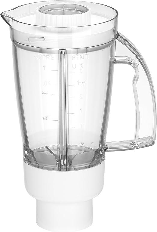 Moulinex MS5A16452 Accesorio Licuadora Para Máquina De Cocina Masterchef Compact Qa20, 1 Litro, Plástico, Transparente: Amazon.es: Hogar