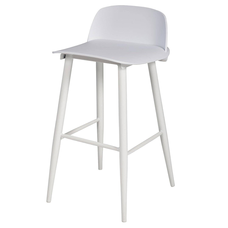 purchase cheap e93c5 ed8ec Amazon.com: Replica Nerd Bar Stool, White: Kitchen & Dining