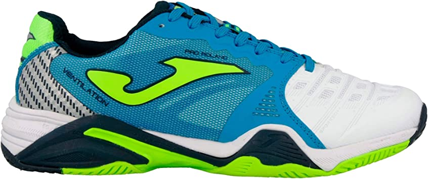 Joma T prolas 702 Zapatos Running T. Pro Roland All Court 702 Bianco-Royal Shoes