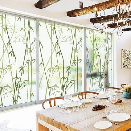 window film designs glass dktie decorative window cling film designs 354 by 472 inches vinyl no glue privacy amazoncom
