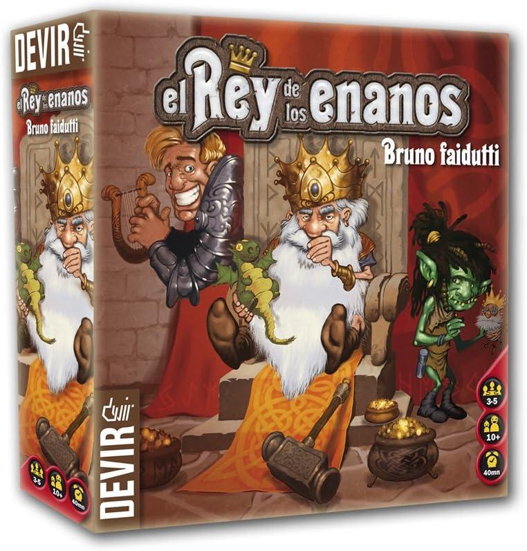 Devir - El Rey de los Enanos, Juego de Mesa (BGNANO): Amazon.es ...
