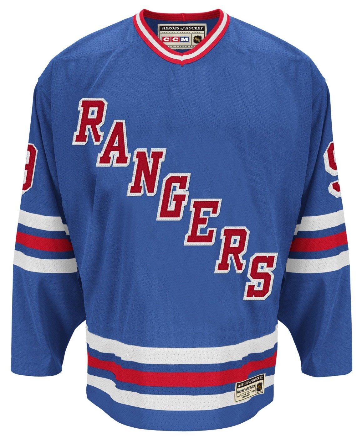 Amazon.com   CCM New York Rangers Wayne Gretzky Authentic Heroes of Hockey  Jersey   Sports   Outdoors fef101534