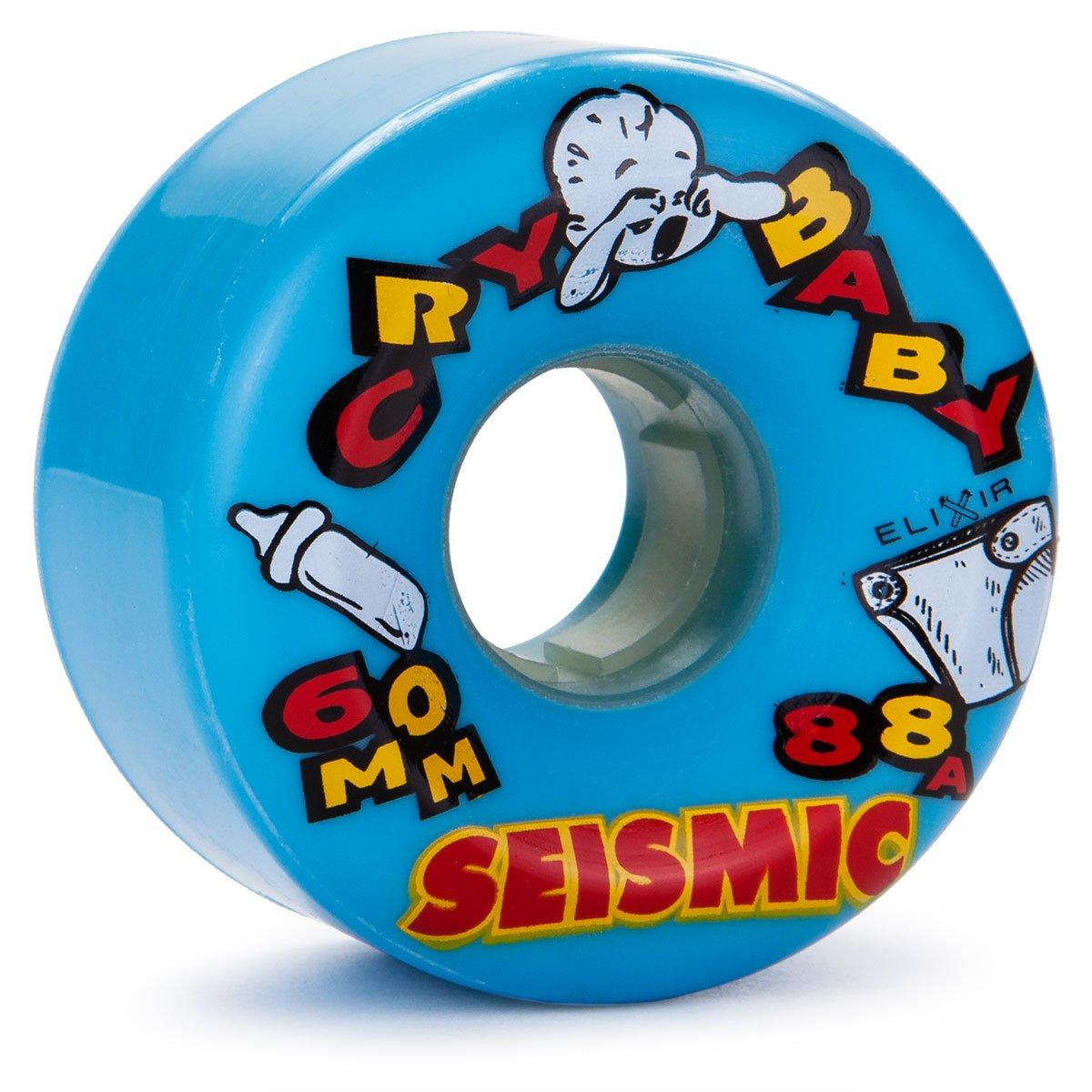 Seismic Cry ベビーロングボードホイール 60mm 88a ブルー   B07J1VHZNV