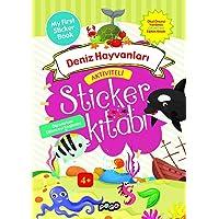 Aktiviteli Sticker Kitabı-Deniz Hayvanları