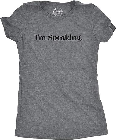 Election 2020 Political Tee Mr Vice President I/'m Speaking Shirt Kamala Harris Tee Biden-Harris T-Shirt