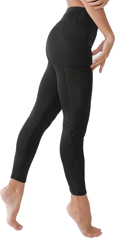 Pocket Yoga Leggings for Women KAOYOO Women High Waist Yoga Pants
