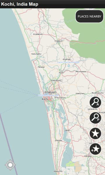 Kochi India Offline Map Amazon Mobile Apps