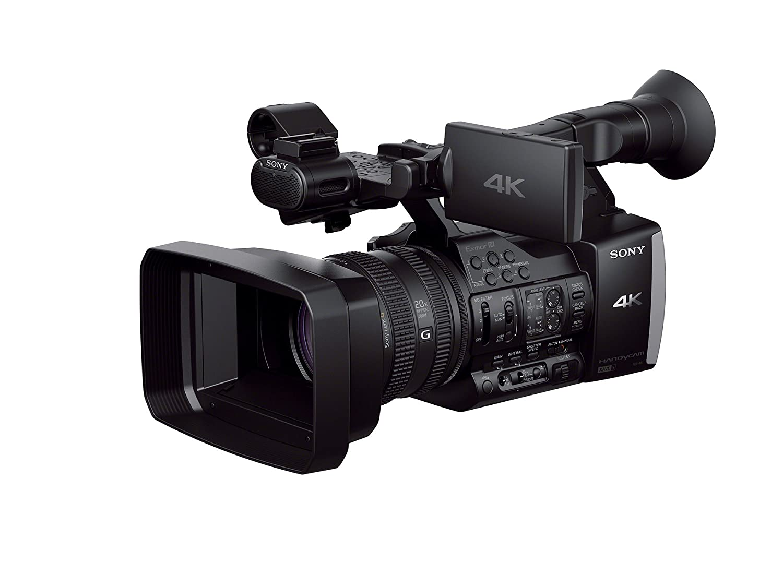 4k Video Camera >> Amazon Com Sony Fdrax1 4k Camcorder Video Camera With 20x Optical