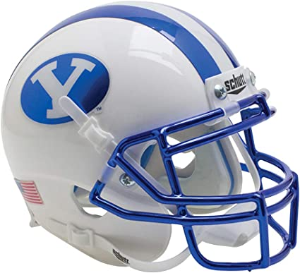 Schutt NCAA BYU Cougars On-Field Authentic XP Football Helmet