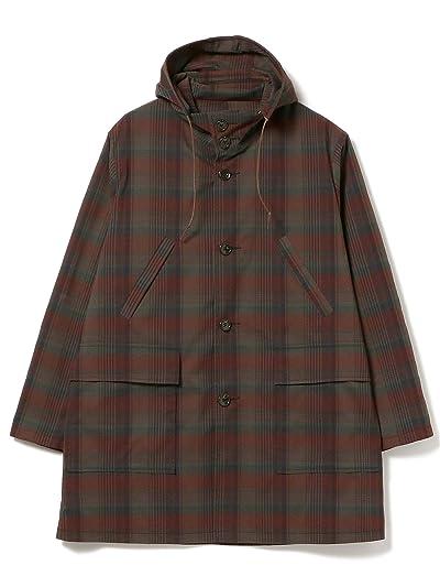 Beams Plus Dark Madras Hooded Coat 11-19-1346-887