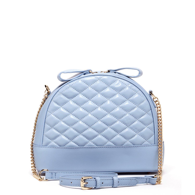 Baby Blue Leather Crossbody Bags for Women Quilted Lambskin Purses Cute  Skyblue Purse Best Cross body It Bag Women  s Sheepskin Designer Handbags  Light Blue ... 3718358d999e0