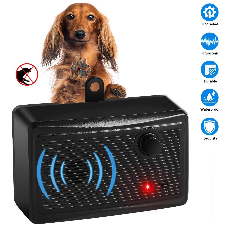 Mini Bark Control Device Outdoor, Anti Barking Deterrent Ultrasonic Dog Bark Control, Sonic Bark Deterrents Silencer Stop Barking Bark Stop Repeller ... by Moforoco