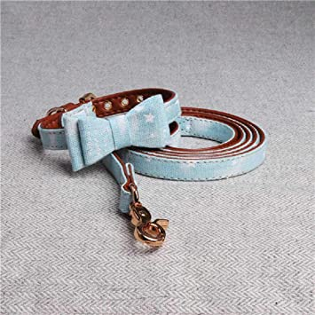 XCRIYX Collar De Perro Perro Cuerda De Perro Set Collar Nudo ...