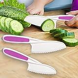 Home Servz Lettuce Knife Set - Serrated Nylon