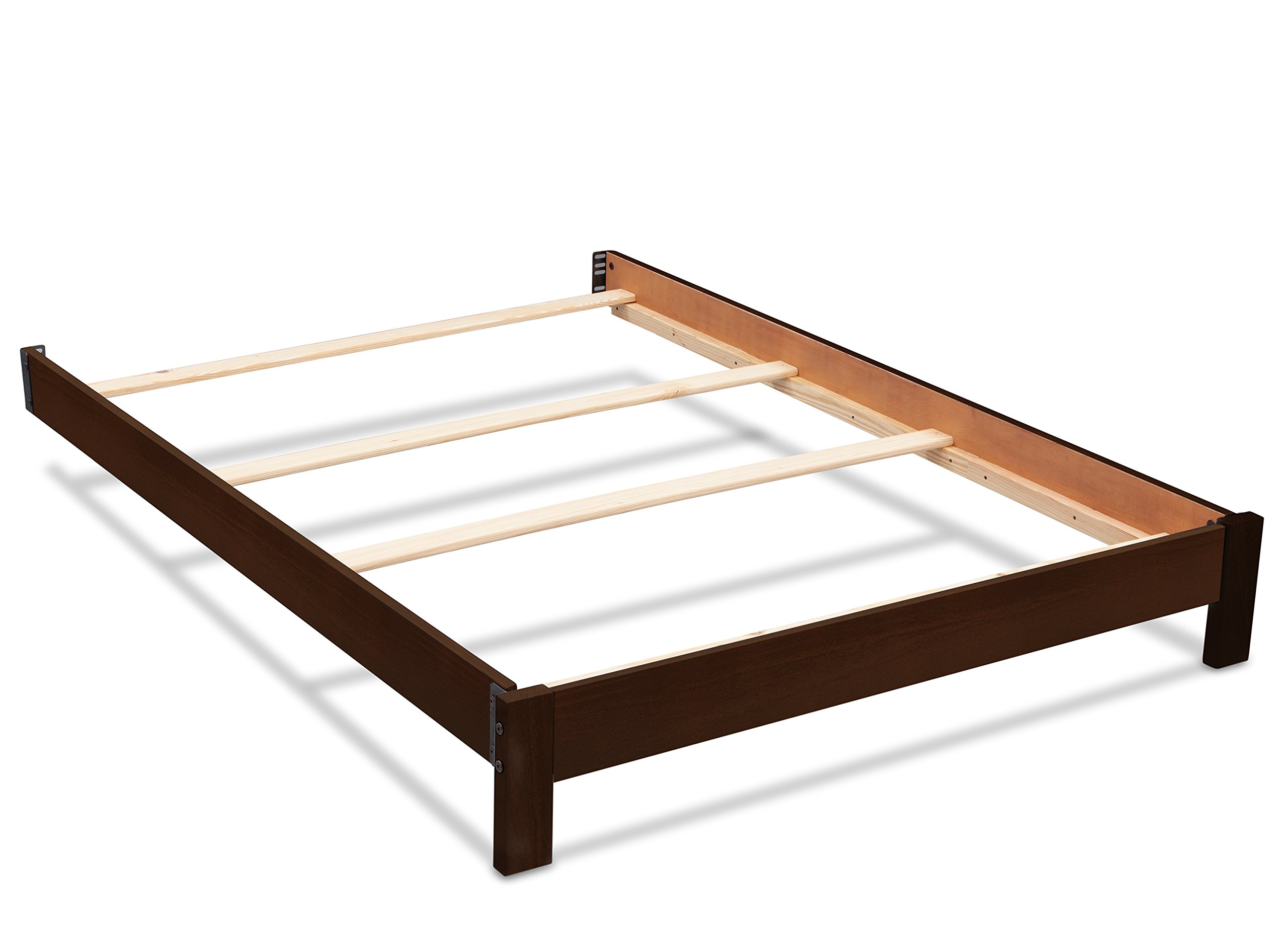 Serta Full Size Platform Bed Kit, Dark Chocolate