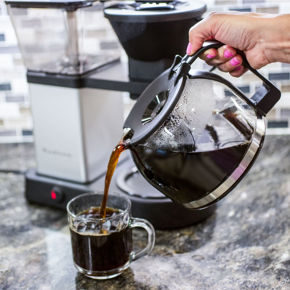 Redline MK1 8 Cup Coffee Brewer with Glass Carafe, Hot Plate and Pre-Infusion Mode by Redline Coffee (Image #9)