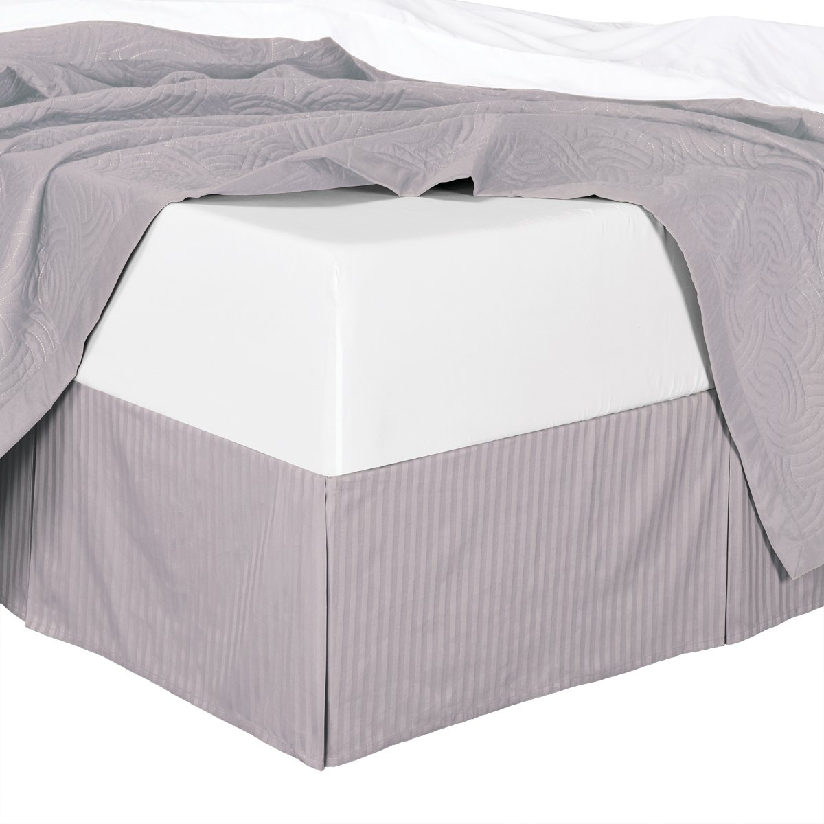 Amazon.com: 300TC Cotton Stripes Beige Twin Extra Long ( Twin XL