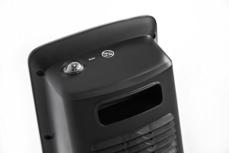 Argoclima beat ice termoventilatore ceramico da bagno nero
