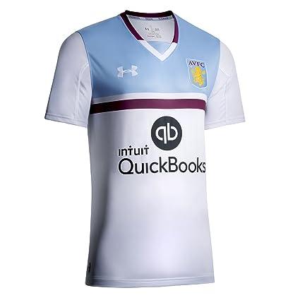 55136238a Amazon.com   Under Armour 2016-2017 Aston Villa Away Football Soccer ...