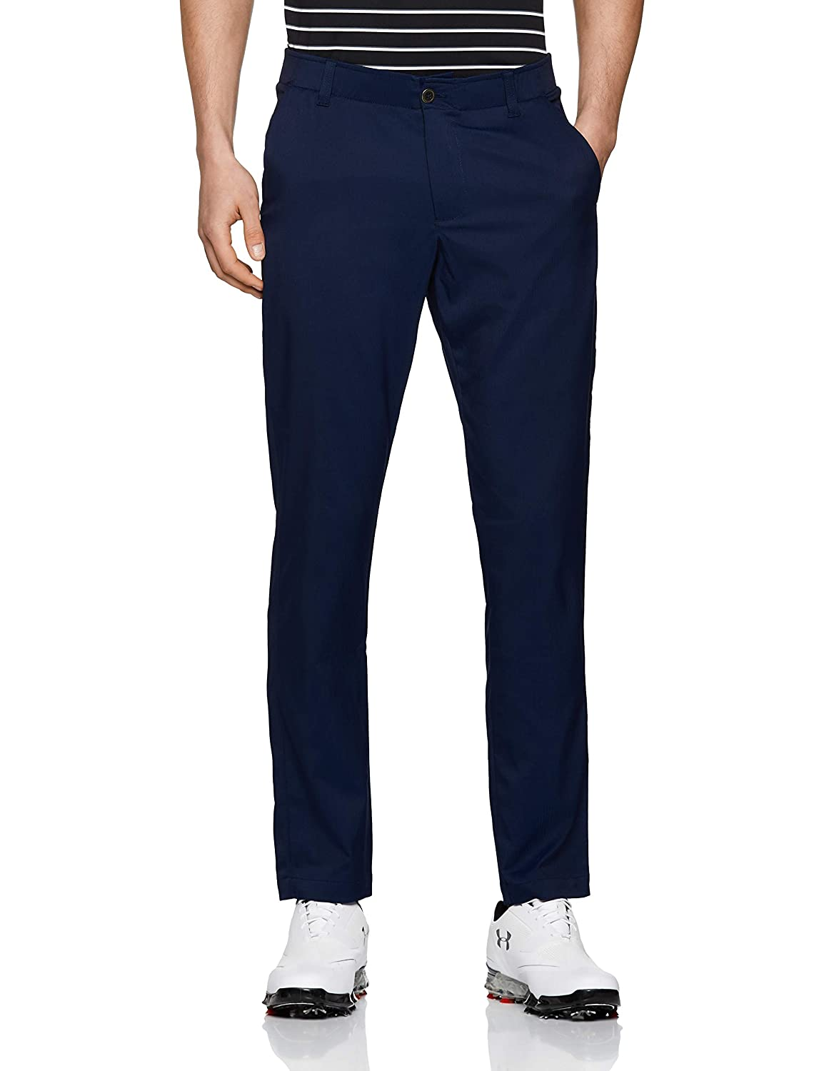 Under Armour Men's Showdown Tape赤 Golf Pants, Academy (408)/Academy, 32/30