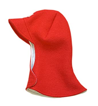 c0d6ddfbb07 Amazon.com  Pickapooh Hat 100% Merino Boiled Wool Balaclava Baby Boy Girl Children  Winter Otto  Clothing