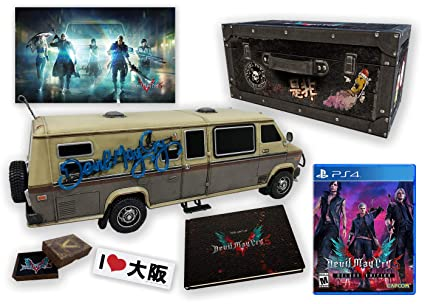 Amazon Com Devil May Cry 5 Collector S Edition Playstation 4