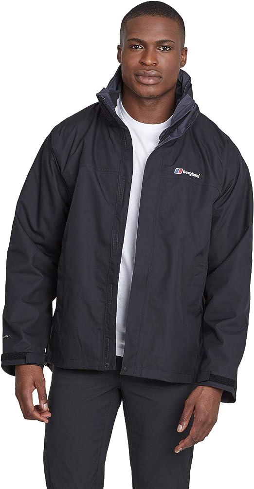 Berghaus Mens RG Alpha 3-in-1 Waterproof Jacket with Inner Fleece