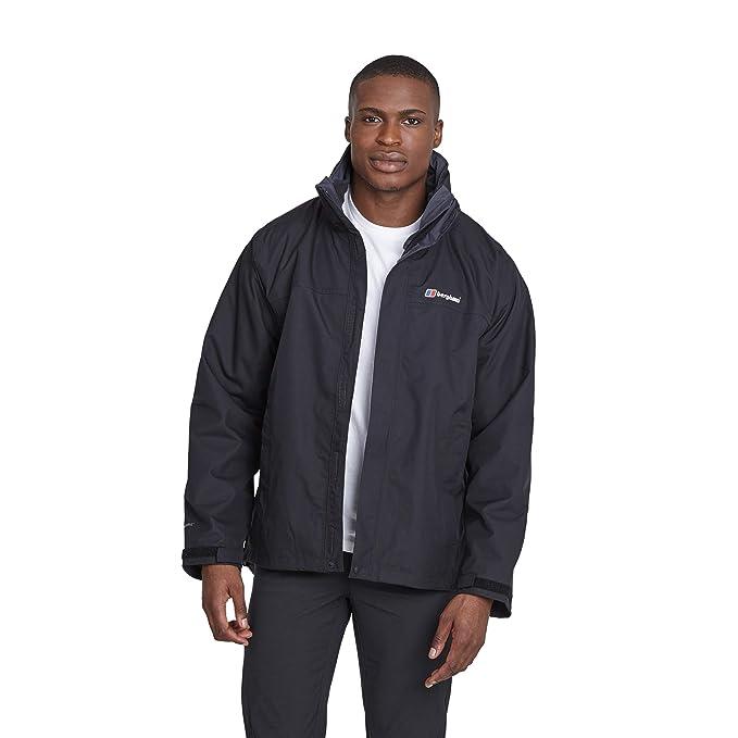 Berghaus Men's Rg Alpha 3 in 1 Waterproof Jacket with Fleece