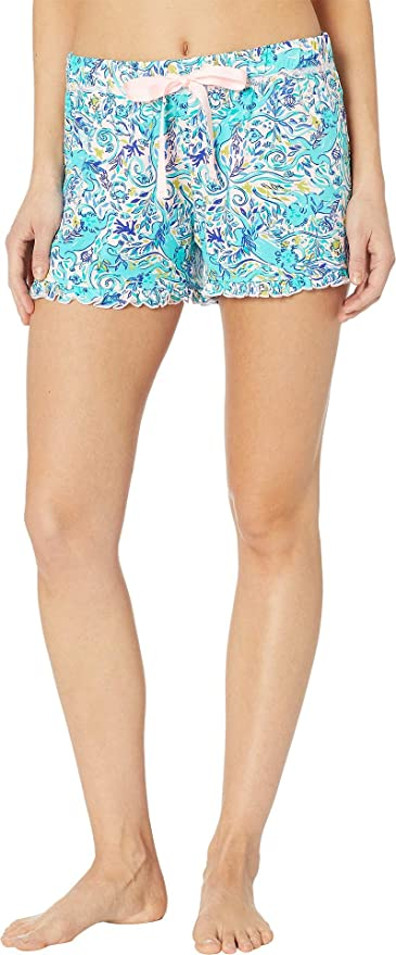 079acc9a5af756 Lilly Pulitzer Women's Ruffle Pj Knit Short at Amazon Women's Clothing  store: