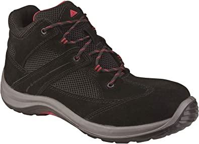 Virage High Leather Safety Shoes