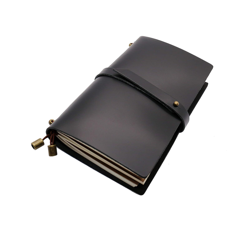 taccuino di cuoio dellannata taccuino dei viaggiatori come blocco note di Sketchbook del diario Taccuino di cuoio genuino fatto a mano giornale di cuoio della natura