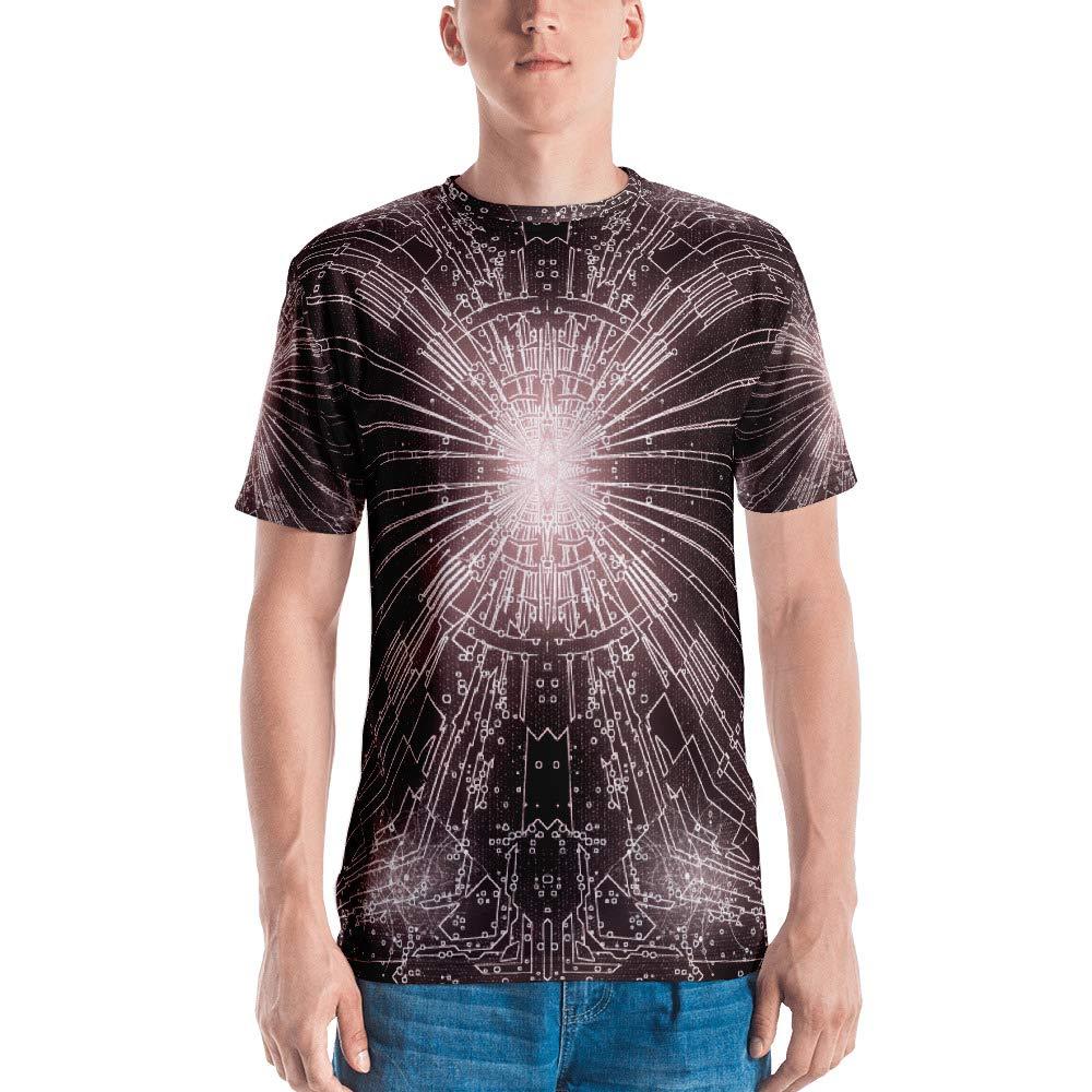 Spellbound Clothing Mens T-Shirt Full Print Premium Knit 100/% Polyester Jersey Resonant Equinox