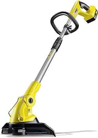 Karcher Ltr 18 25 Cordless Grass Trimmer Battery Set Yellow Black 25 Cm Amazon Co Uk Garden Outdoors