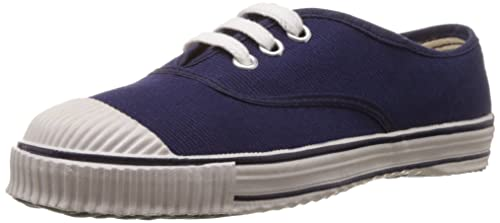 22bbfbe39724 Image Unavailable. Image not available for. Colour  Bata Boy s Tennis Blue Canvas  Formal Shoes - 8 kids UK India (26 EU