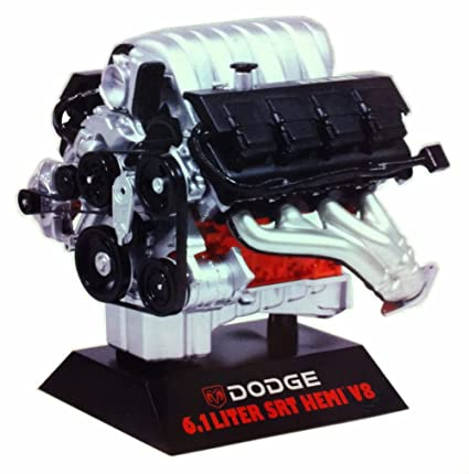 Buy Dodge 6 1 Liter Srt Hemi V8 Engine Red Hawk 11070 1 6 Scale