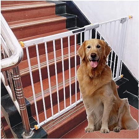 Barreras de puerta Barrera De Seguridad for Bebés For Barandilla De Escalera Valla De Chimenea Perro for Mascotas Perro Valla De Hierro Puerta De La Barandilla Perforación Gratuita Instalación De Aisl: Amazon.es: