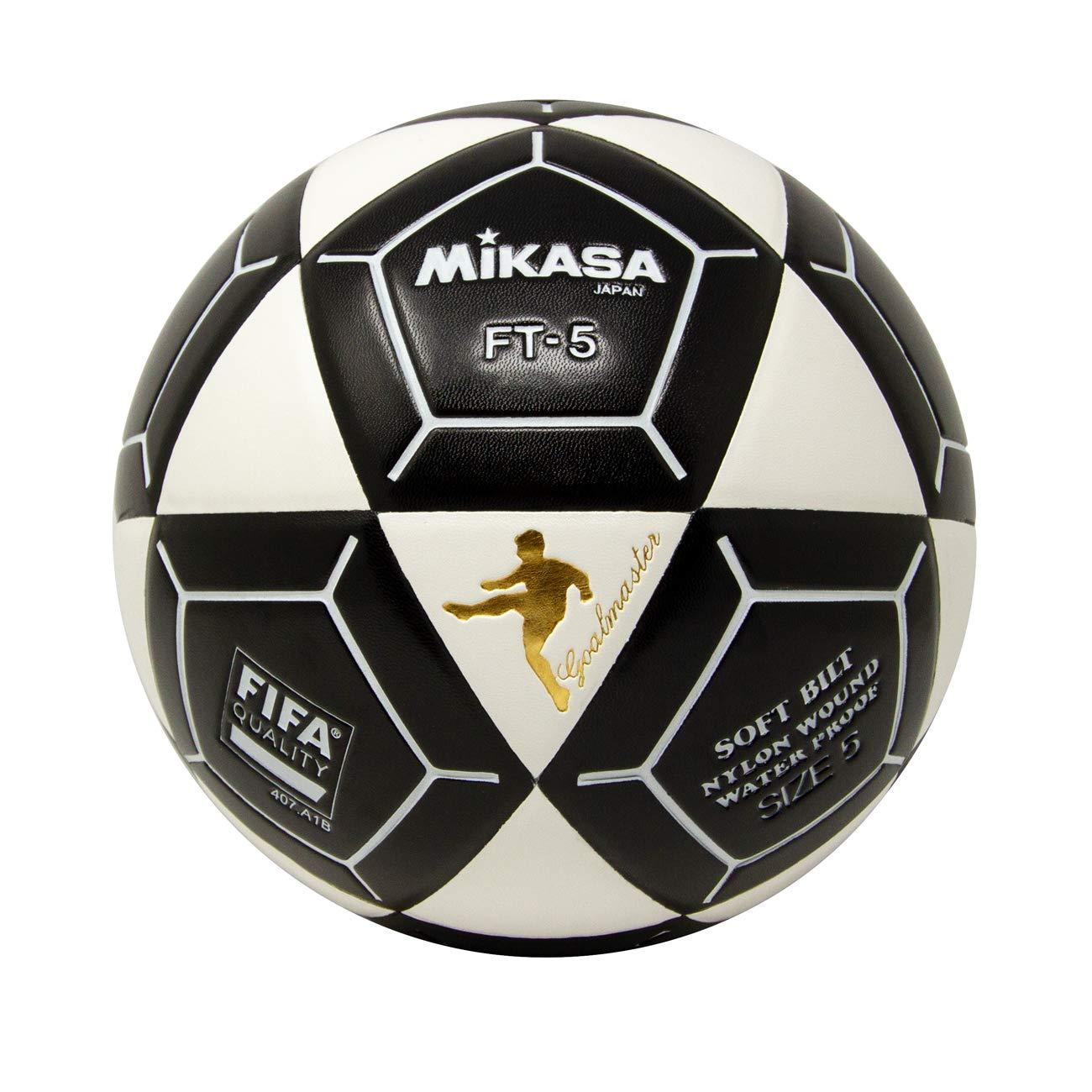 Mikasa FT5 Meta Maestro Pelota de fútbol, Color Blanco/Negro ...