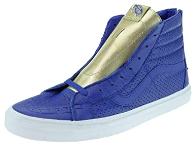 Hi Sk8 De Pour Bleu Skateboard Vans Chaussures Reissue Homme Zip Oxg55wBT