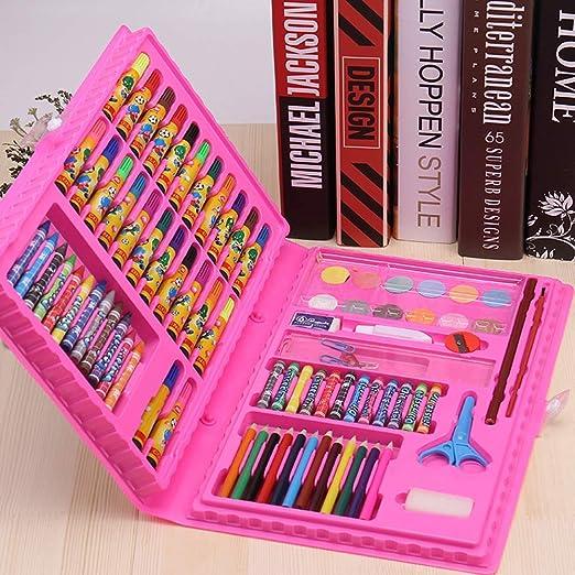 Colouring set Juego De Arte De 86 Piezas con Estuche, Gran ...