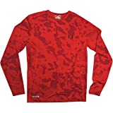 Under Armour Men's HeatGear Sonic Printed Fitted Long Sleeve