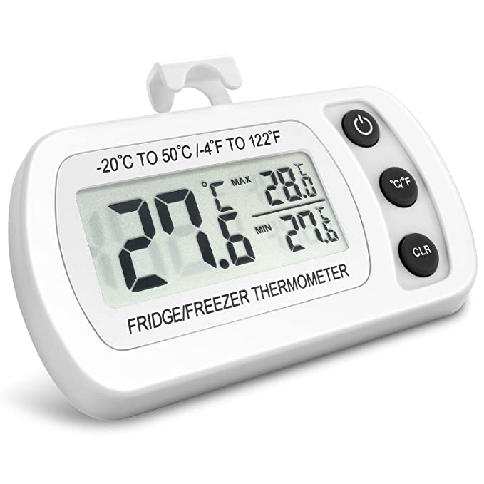 102 opinioni per NexGadget Termometro digitale per frigorifero Freezer Termometro frigo con LCD